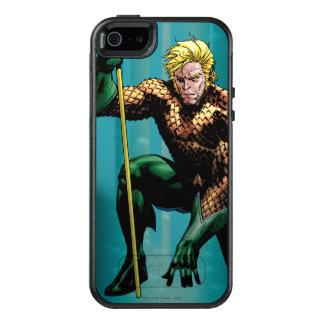 Aquaman som huka sig ned 2 OtterBox iPhone 5/5s/SE skal