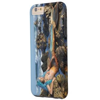 AquaMarinesjöjungfru vid havet Tough iPhone 6 Plus Fodral