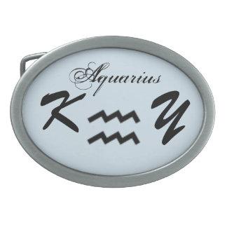 AquariusZodiacsymbol som är standart vid Kenneth