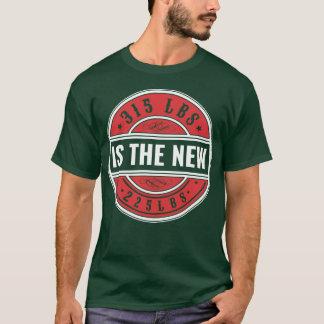 """""""är 315 det nytt. """"Manar grundläggande mörka T Shirt"""