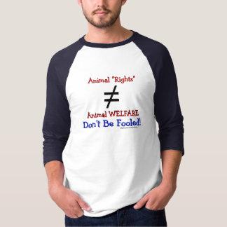 AR är inte lika till AW Tee Shirts