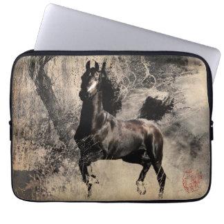 År av hästen 2014 - kinesisk målningkonst laptop fodral