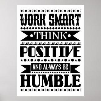 Är den smart tänkarealiteten för arbete och alltid poster