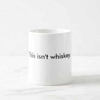 """""""Är denna inte mug.en för whiskey"""" (utan mig att Kaffemugg"""