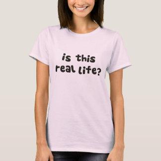 Är denna verkliga livet?  Metafysiskt berusat T Shirt