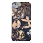"""""""Är det All fodral för iPhone 6 om för katterna"""" Barely There iPhone 6 Skal"""