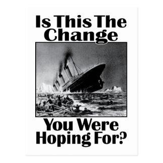 Är detta ändringen som dig var att hoppas för? v2 vykort
