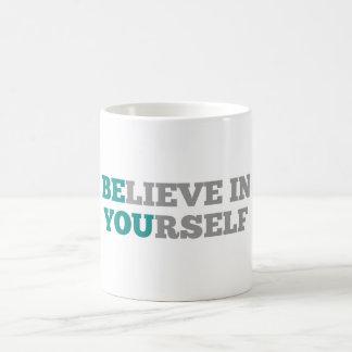 Är du den inspirera citationsteckenmuggen kaffemugg
