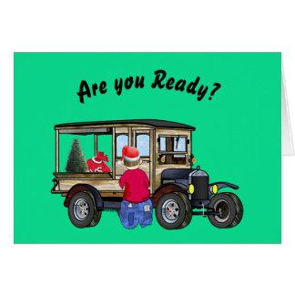 Är du klar för jul? Abe är funktionsduglig på den OBS Kort