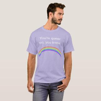 """""""Är du konstig för, vet du."""", t-skjorta Tee Shirts"""
