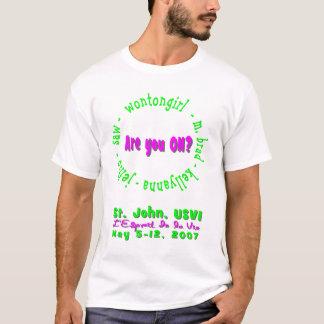 Är du PÅ? St John USVI-skjorta Tröjor