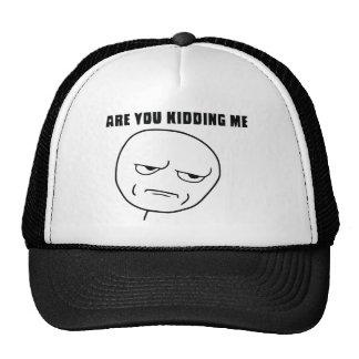 Är du som lurar mig ursinneansikte Meme Baseball Hat