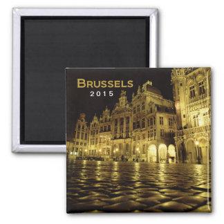 År för ändring för Bryssel Belgien nattmagnet Magnet