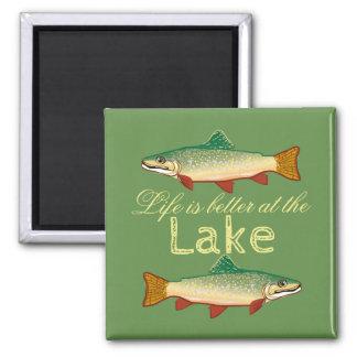 """Är grönt """"liv för Moss bättre på sjön """", Magnet"""