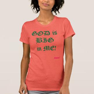 """""""Är guden stor i mig"""" den kristna T Shirt"""