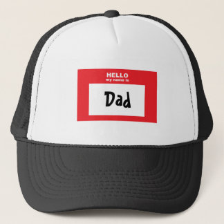 """""""Är hejen mitt namn den pappa"""" hatten Keps"""