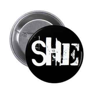 """""""Är hon"""" min pronomen Knapp"""