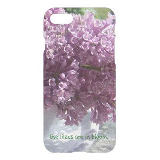 """""""Är lilorna i blom. """", iPhone 7 Skal"""