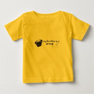 är min broder för e en mops mer avel tee shirt