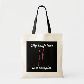 Är min pojkvän en vampyr tygkassar