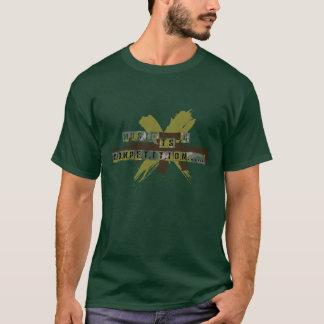 """""""Är musik en konkurrens """", T Shirt"""