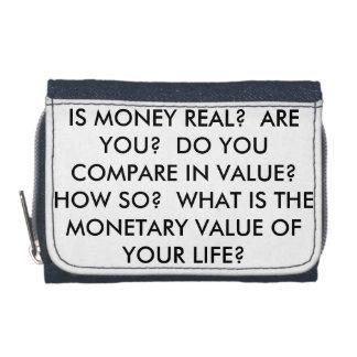 Är pengar verkliga? Är du verklig?