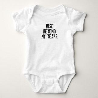 År-Rolig bebist-skjorta för klok det okända T-shirt