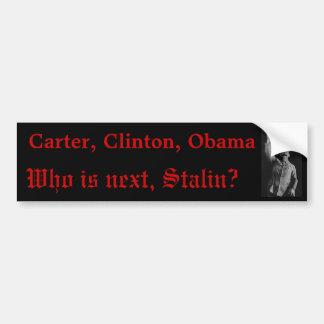 Är Stalin nästa? Bildekal