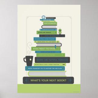 Är vad din nästa bok? poster