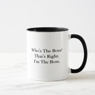 Är vem chefen?