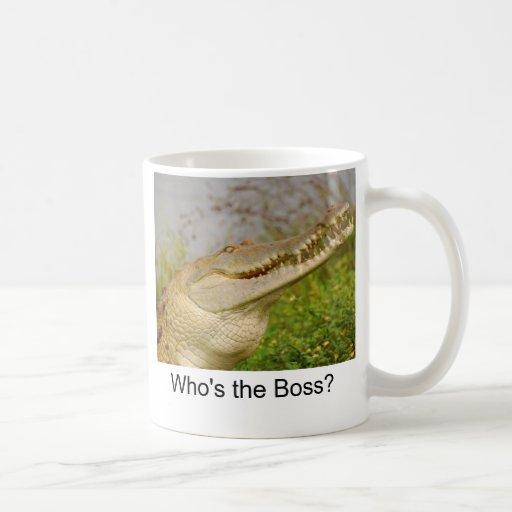 Är vem chefen? kaffe muggar