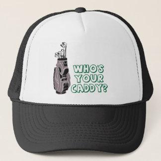 Är vem din Caddy? Keps