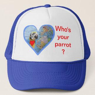 Är vem din papegoja? keps