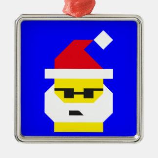 Är vem din Santa, baby? Julgransprydnad Metall