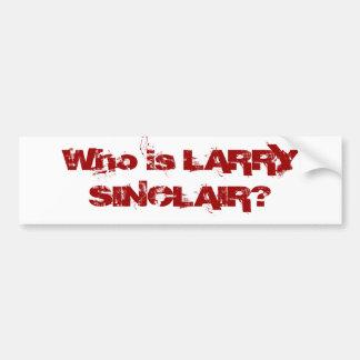 Är vem LARRY SINCLAIR? Bildekal