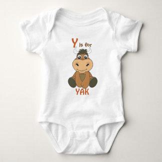 """""""Är Y för den YAK"""" barnskjortan T Shirt"""