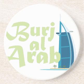 Arabisk Burj Al Underlägg Sandsten