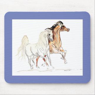 Arabisk häst Mousepad Musmatta