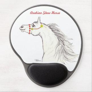 Arabisk häst som ler teckninggelen Mousepad Gel Musmatta