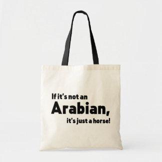Arabisk häst tygkasse