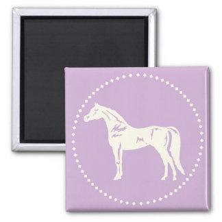 Arabisk hästSilhouette Magnet