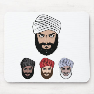 Arabisk Muslimvektor Musmatta