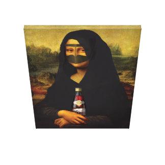 Arabiska Mona Lisa Canvastryck