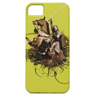 Aragorn som rider en hästvektorCollage Barely There iPhone 5 Fodral