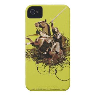 Aragorn som rider en hästvektorCollage Case-Mate iPhone 4 Fodraler