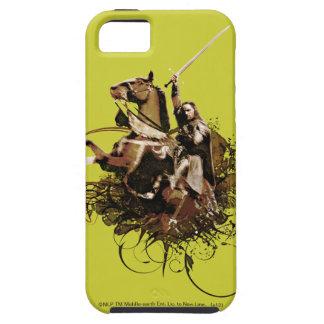 Aragorn som rider en hästvektorCollage iPhone 5 Cover