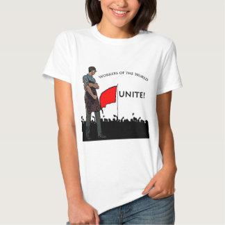 Arbetare av världen t shirts