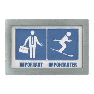 Arbete är viktigt och att skida är Importanter