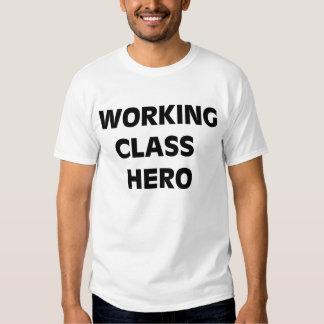 Arbetet klassificerar hjälten t shirt