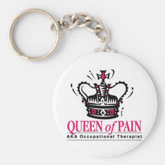 Arbetsterapeut - drottningen av smärtar rund nyckelring